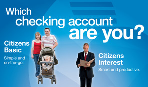 Citizens National Bank Checking Campaign
