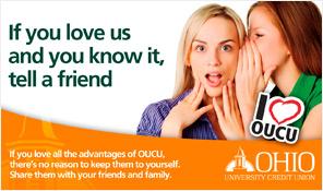 Ohio University Credit Union Referral Campaign