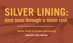 Red Rocks Credit Union Auto Sale Posters
