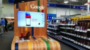Google personal electronics in-store display at a Texas Best Buy