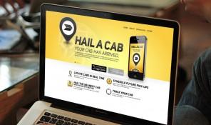 Yellow Cab App Minisite