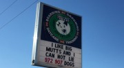 "Velvet Snout ""I like big mutts"" sign"